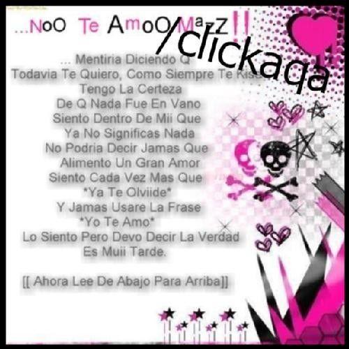 Fotolog de cabezadami09: No Se